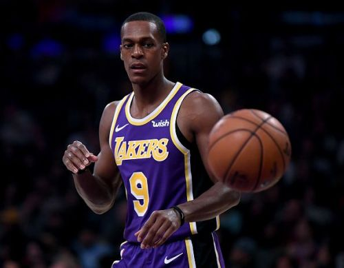 Rajon Rondo is among the players that could leave the Los Angeles Lakers this month