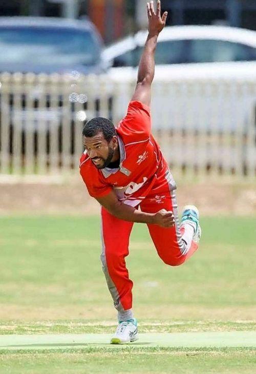 Recordo Gordon in action for Gisborne CC (Image Courtesy: Gisborne Cricket Club)