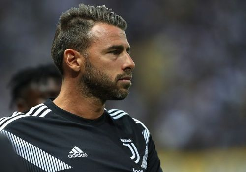 Barzagli (37) is expected to be sidelined for two months with a thigh injury