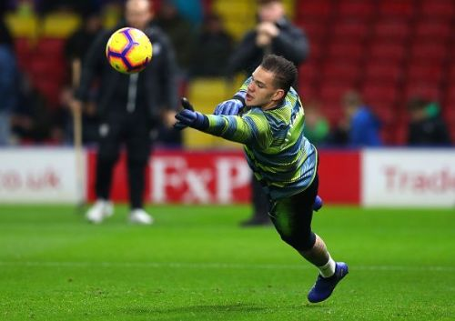 Ederson has safe hands and great ball distribution