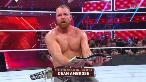 Dean Ambrose is now the new WWE Intercontinental Champion
