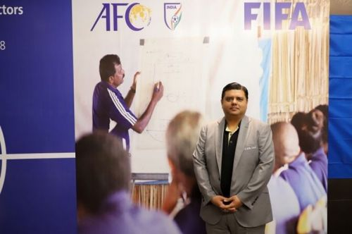 Prince Rufus, FIFA Regional Development Manager for South Asia (Image: AIFF Media)