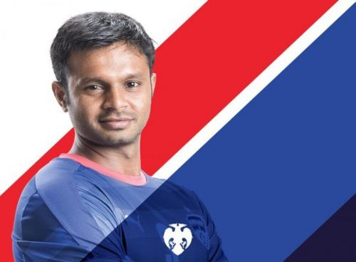 Nanjangud Shivananju Manju was the captain of the India U-23 team