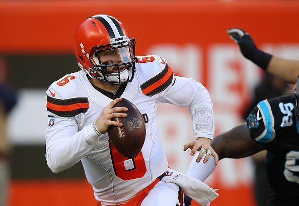 Baker Mayfield brings an energy and sense of confidence