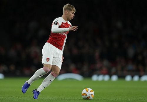 Emile Smith-Rowe scored again for the Gunners in Kiev.