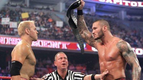 Christian vs Orton