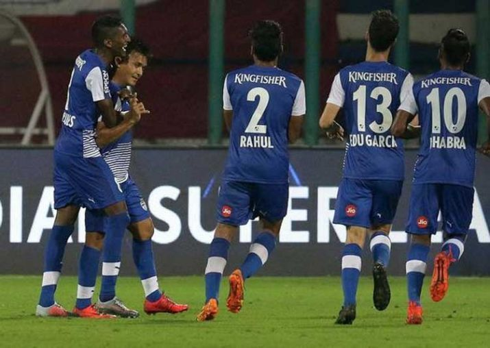 Bengaluru top the ISL after 11 matches and one of their players could be in the Premier League before long