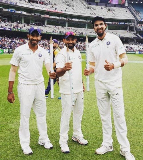 Ishant's experience, Bumrah's rocket-speed, and (Second-Innings) Shami's reverse swing make for a riveting combination.