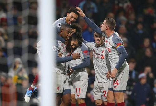 Liverpool earned a hard-fought win at Turf Moor