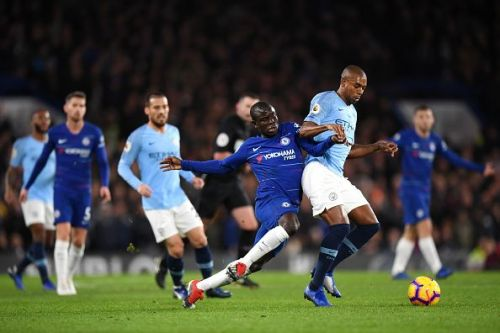 N'Golo Kante sucker punched City at the stroke of half-time with a goal from the edge of the box