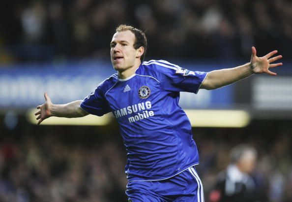 The Dutch winger won plenty of hearts during his time with Chelsea