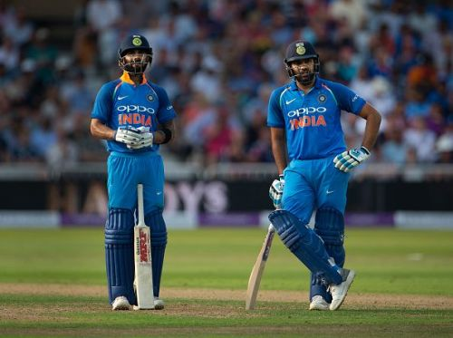 Rohit Sharma and Virat Kohli were in sublime form in 2018