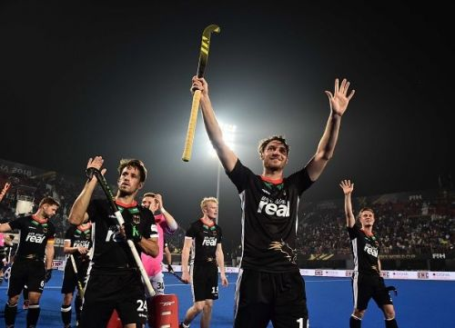 Germany secured a comprehensive win over The Netherlands