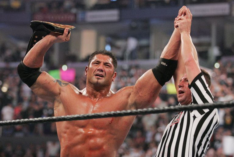 Batista spent the entire 2007 in the World Title picture.
