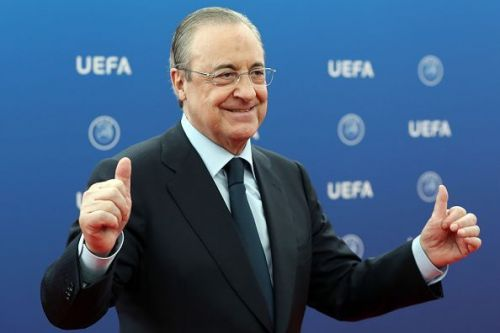 Real Madrid and Florentino Perez have reason to be delighted