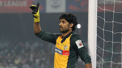 Subhasish Roy Chowdhury was the second choice goalkeeper for India in the 2011 AFC Asian Cup