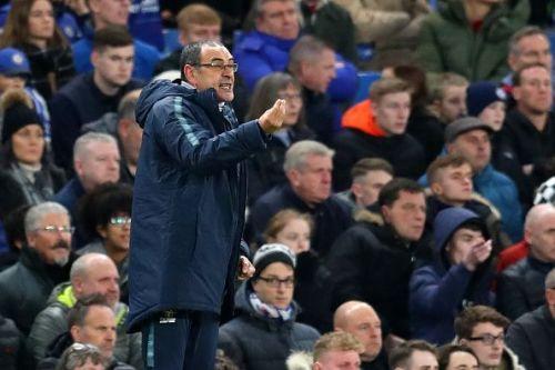 Chelsea FC head coach Maurizio Sarri
