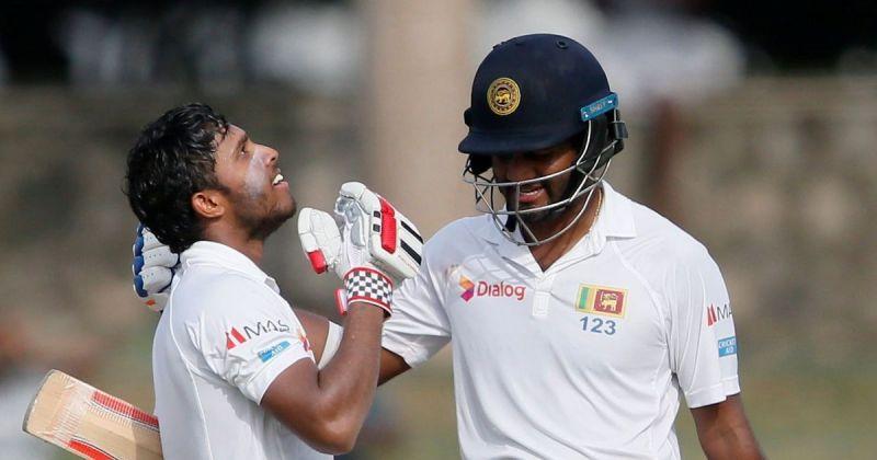 The Sri Lankan pair of Kusal Mendis and Karunaratne are the openers