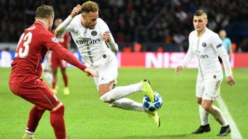 Neymar destroys Liverpool's Xherdan Shaquiri