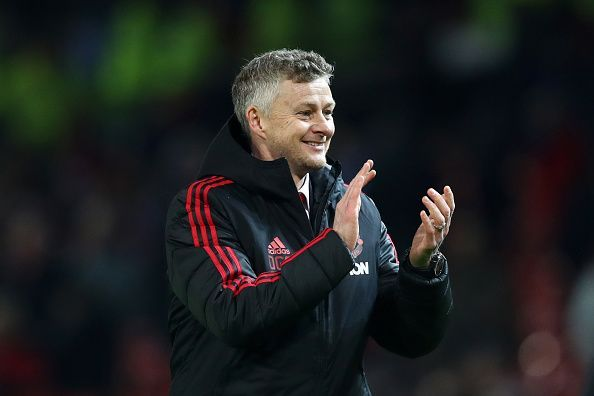 Solskjaer started his managerial career at Old Trafford on a positive note
