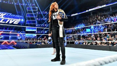 SmackDown Live Women's Champion Becky Lynch