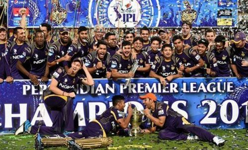 KKR won its second IPL title in 2014.