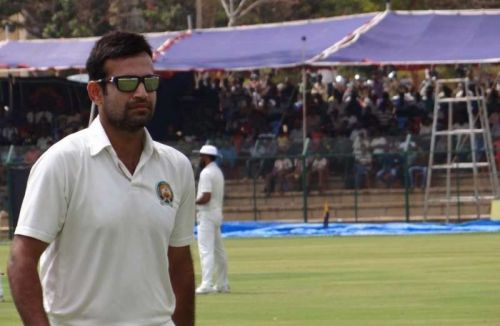 Irfan Pathan derailed Haryana's second innings with his 4-10