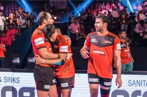 Anup Kumar, known to inspire a lot of young players as a father figure.