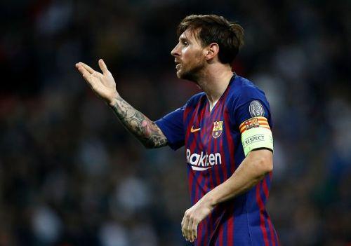 Barcelona talisman - Lionel Messi