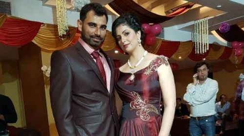 Shami and Hasin during happier times