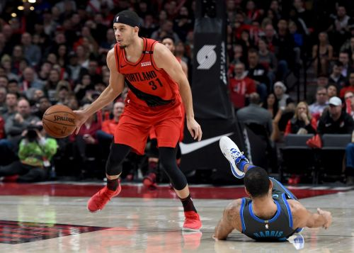 Seth Curry scored 12 points off the bench for the Blazers