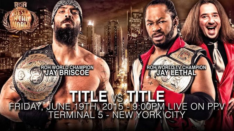 Jay Lethal and Jay Briscoe put on a wrestling classic when they locked horns for the Ring of Honor world title.
