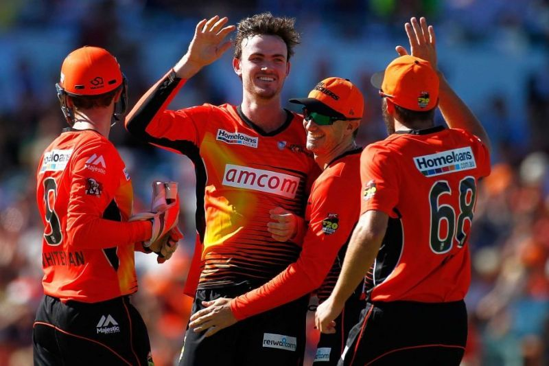 Turner has captained Scorchers in absence of senior pros