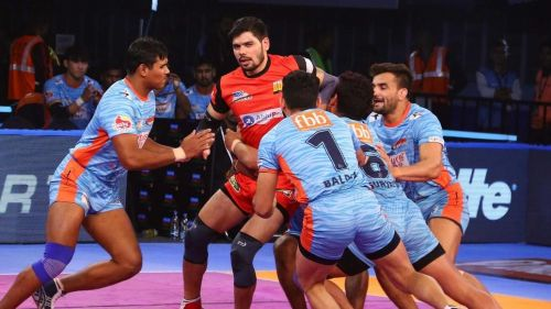 Bengal Warriors had an off night on the mat