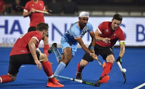 Canada v India - Canada didn't give up easily