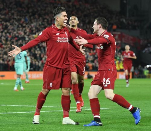 Roberto Firmino Scores a hat-trick as Liverpool thrashed Arsenal 5-1