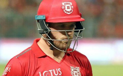 Aaron Finch has taken a break from the IPL.