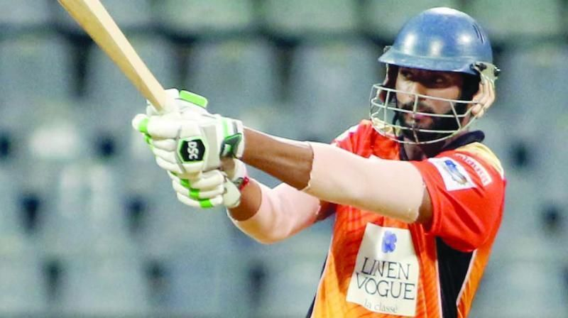Shivam Dube gave a timely reminder just before the auction by hitting 5 sixes in an over