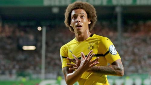 Witsel was signed from the Chinese Super League in the last transfer window