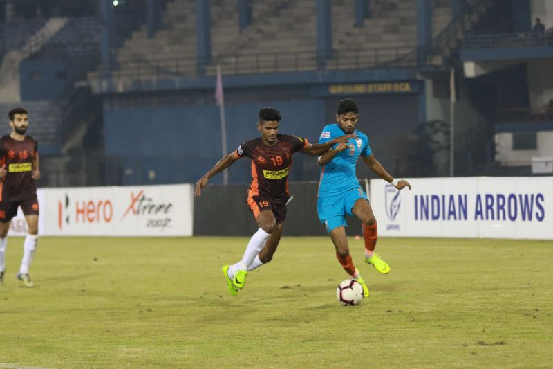 Indian Arrows registered their second win of the 2018-19 Hero I-League