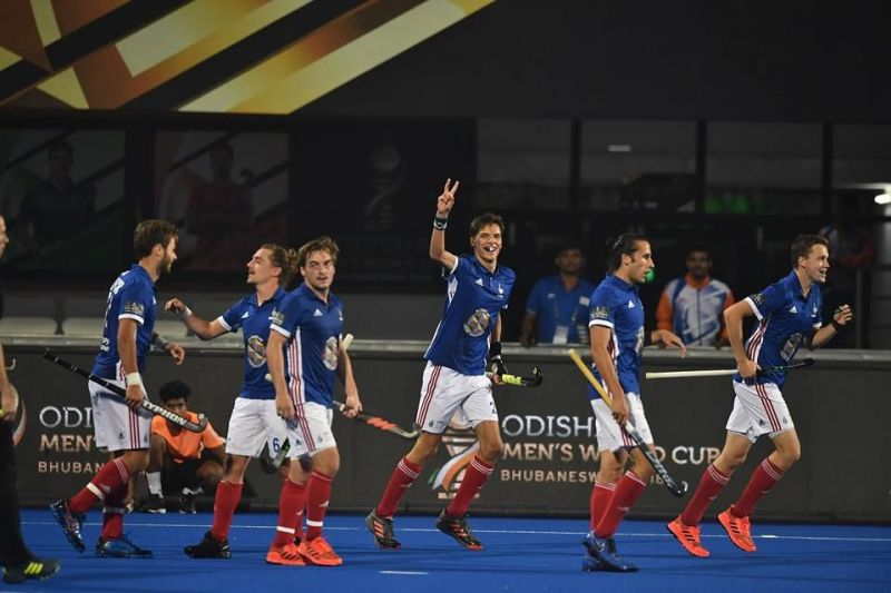 Timothee Clement celebrating his goal