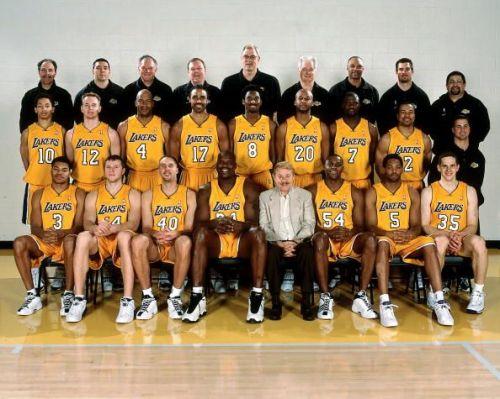The Lakers, 2000-01 season
