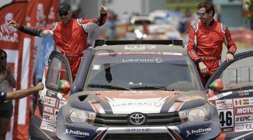 Is Andre Villas-Boas beginning a new career in motor sport?