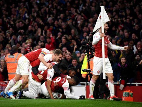 Arsenal was brilliant in the second half