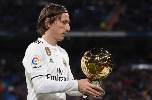 Luka Modric bagged almost every individual award this year