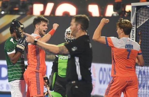 The Dutch side thrashed Pakistan