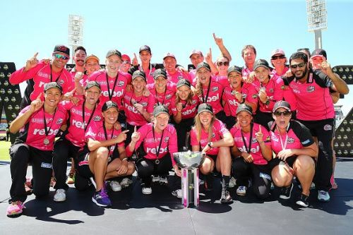 Sydney Sixers won their second WBBL title in 2017-18