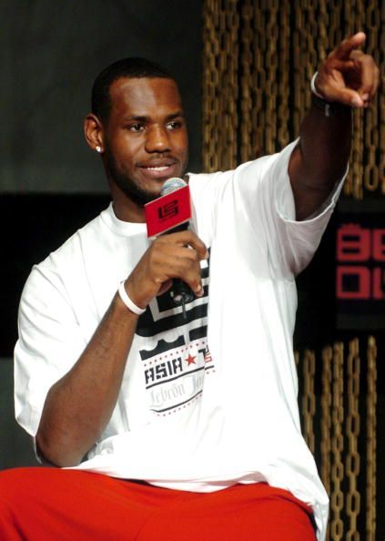 LeBron James Visits Beijing