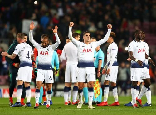 They had to fight the onset of desperation but they only have themselves to blame. Spurs should have got the job done with much more ease playing against a second-string team
