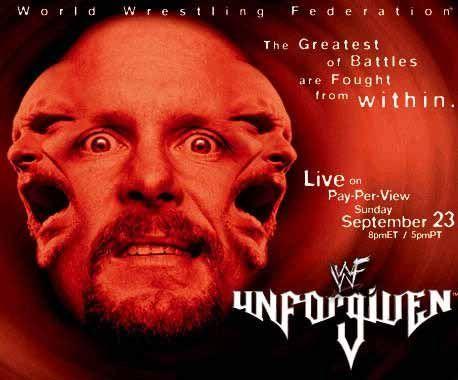 Stone Cold entered Unforgiven as WWF Champion